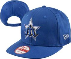 Seattle Mariners Retro Vintage Logo Hat