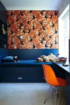 monkey wallpaper, de Gournay