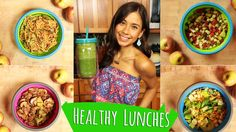 HEALTHY LUNCH IDEAS FOR SCHOOL & WORK! by Rawvana #LatinaCreators
