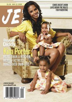 Kim Porter and twin daughters LIKE MOM...LIKE DAUGHTER