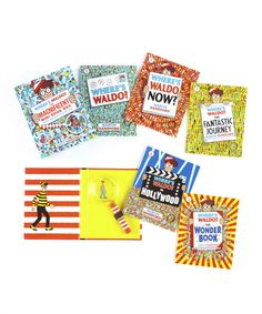Look at this Where's Waldo? Boxed Paperback Set on #zulily today!