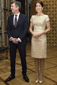Princess Mary & Prince Frederik held a dinner at Christiansborg Palace
