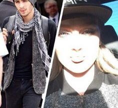Zerrie sharing clothes again. ❤️