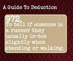 Suggested Anonymously | a guide to deduction