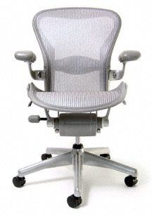 Herman Miller Classic Aeron Task Chair Highly Adjustable wLumbar Pad  Tilt Limiter wSeat Angle Adj  Fully Adj Vinyl Arms  Standard Carpet Casters >>> Want to know more, click on the image.