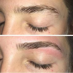 Brow waxes make such a huge difference! Brow waxes make such a huge difference! Done by Call now to book an appointment at Eyebrow Shaper, Eyebrow Tinting, Eyebrow Brush, Brow Shaping, Eyebrow Pencil, Thick Eyebrow Shapes, Eyebrow Growth, Eyebrow Before And After, How To Draw Eyebrows