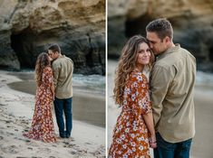 Styled Laguna Beach Engagement Session at Three Arch Bay with THE SHOP Laguna, North Menswear, and Cargo Creative