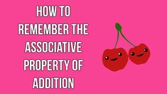 How to remember the associative property of addition (Neat Trick #4)