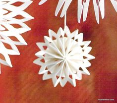 Roost Paper Snowflake Ornaments – Modish Store