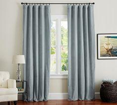 Velvet Single Width Drape, 50 X 84. Pottery Barnu0027s Expertly Crafted Velvet  Curtains ...