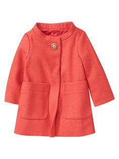 Baby Gap coral coat