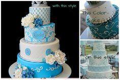 Sweet Sixteen cake style