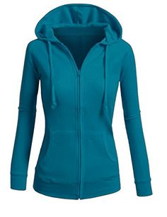 ViiViiKay Womens Casual Warm Thin Thermal Knitted Solid Zip-Up