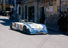 Targa Florio 1972 . The Chevron B19 lost his tail…
