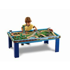 Thomas Wooden Railway Grow With Me Play Table Fisher Price Toys R