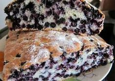 "Pie ""ugly duckling"" with blueberries INGREDIENTS: 5 eggs 3 ST. dollop of sour cream 1 CUP OF SUGAR 1 cup flour 1 tsp baking powder Knead the dough Pie Recipes, Cooking Recipes, Good Food, Yummy Food, Sweet Pie, Blueberry Recipes, Russian Recipes, Recipes From Heaven, Cakes And More"