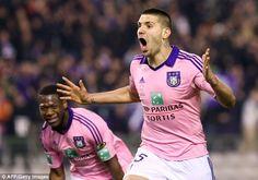 Chelsea ponder move for £15m-rated Anderlecht striker Aleksandar Mitrovic...