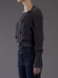 Vivienne Westwood Anglomania - OPIUM TIE CARDIGAN 3