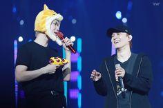 180316 Baekhyun & Chen - The EℓyXiOn in Bangkok Day I #EXO