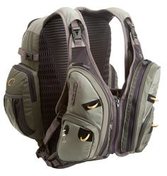 "William Joseph | Exodus // This ""Vestpack"" was designed for anglers, why hasn't anyone made something like this for survivalists? // I'd like to see this in Multicam or ATACs FG with QD buckles across the chest and admin pockets in the front"