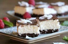 Sukkerfri bounty kake - LINDASTUHAUG Sugar Free Recipes, Lchf, No Bake Cake, Free Food, Healthy Living, Cheesecake, Food And Drink, Brownies, Sweets