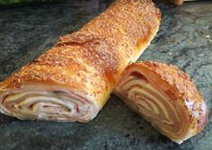 Meat Recipes, Recipies, Ciabatta, Canapes, High Tea, Baked Goods, Peanut Butter, Bakery, Food And Drink