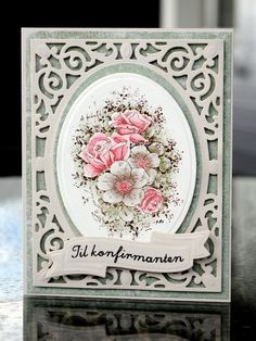 Cards and Creations: Vintage Garden Card
