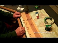 How To Use A Dropper Loop Peg Board - YouTube
