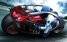 Hyundai Concept Motorcycle  Creative TUMBLR Users Check Out:                                                                                                                                    http://pop-solutions.tumblr.com