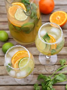 Margarita Sangria, from completelydelicious.com by Completely Delicious