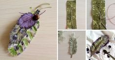 fabric feathers--- not in english but pictures should be enough