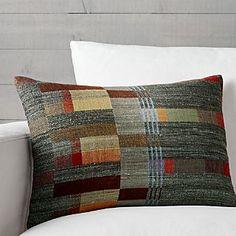 "Lorna 22""x15"" Pillow, 69.95 Crate and Barrel"