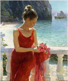 Vladimir Volegov ~ Russian Figurative Painter