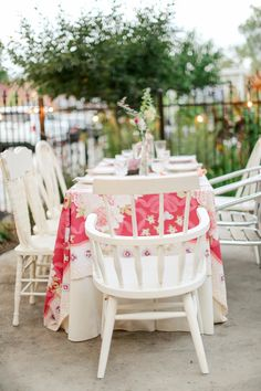 Colorado Wedding from Laura Murray Photography + Chairished Vintage Rentals Eclectic Chairs, Brunch Decor, Vintage China, Wedding Table, Denver, Florals, Colorado, Weddings, Table Decorations