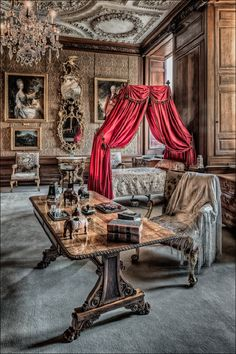 Burghley House - The Brown Drawing Room. photo credit Keith Lynch