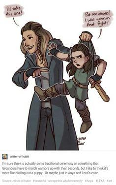 Lexa + Anya