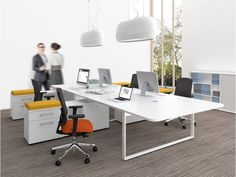 Eckschreibtisch für 2 personen  Modernen büroarbeitsplatz/massivholz eckschreibtisch/bürotisch für ...
