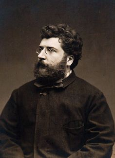 Georges Bizet. Romantic music, Epic beard.