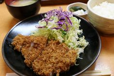 This is the one of famous Japanese dish #Tonkatsu teishoku, pork #cutlet set meal. There are two kind of  pork #loin or filet, you should take pork loin cutlet in Japan!! #�� #foodie #foodies #foodgasm #foodgawker #foodlover #foodlovers #foodshare #foodpic #foodpom #foodphotoI #foodcoma #foodgood #delish #delicious #food #foodphotography #foodpics #foodstagram #gourmet #foodoftheday #gourmet #foodoftheday #zagat  #Japanesedish #Japanesemeal #Japanesecuisine…