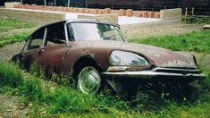 Citroen left to rust