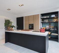Open Plan Kitchen Living Room, Kitchen Room Design, Kitchen Interior, New Kitchen, Kitchen Dining, Kitchen Decor, Townhouse Designs, Cabin Kitchens, Architecture
