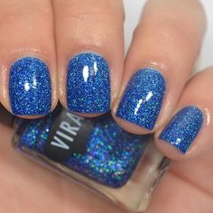 """@viragovarnish """"Disco King"""" from the 77 collection. I have swatches of this and the rest of the collection on my YouTube channel right now!"""