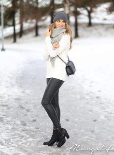 Anna Vanhanen goes street style in January