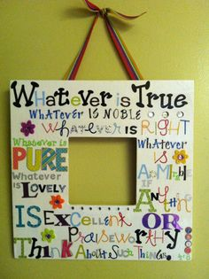 12 x 12 Decorative bright and fun Wall art with Bible by srowe5, $11.00