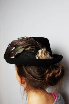 Felt Hat, Vintage Wool, Elegant, Traditional Dresses, Etsy Shop, Hats, Clothes, Black, Fashion