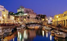 Ciutadella Menorca, a stunning old capital by day or night
