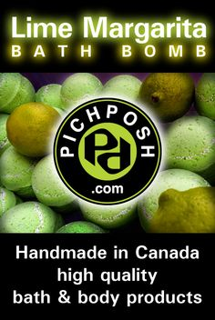 """LIme Margarita Bath Bomb - The DRINK is now THE BOMB! The perfect summertime Lime, ...fresh with just a touch of sweetness. Enjoy this salty """"Sour"""" creation which is now part of the PICHPOSH happy hour. While bathing add one Bath Bomb to your water & Discover the PICHPOSH Experience.  Shop Here for Lime Margarita Products:  http://www.pichposh.com/securestore/c378102915.2.html  Visit PICHPOSH.com #LimeMargarita #margarita #drinks #happyhour #summer #pichposh #bathbomb #bathandbody"""