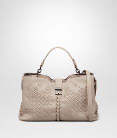 Mink Nappa Medium Napoli Bag - Bottega Veneta Bag  designer   styleinspiration  classy 34e09d3ca74de