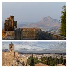 Vistas que enamoran… desde la Alcazaba de Antequera #tuhistoriaeninvierno
