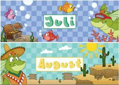 material-intern - Zaubereinmaleins - DesignBlog Kindergarten, Weather Seasons, Teaching Materials, Four Seasons, Kids Learning, German, Montessori, Fictional Characters, First Grade Lessons